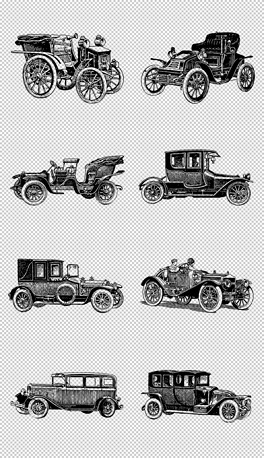 EPS黑白复古 EPS格式黑白复古素材图片 EPS黑白复古设计模板 我图网