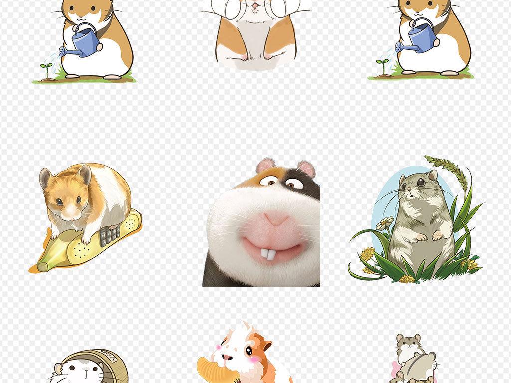 动物园小动物手机壳图案设计儿童画手绘动物水墨黑白壁画壁纸