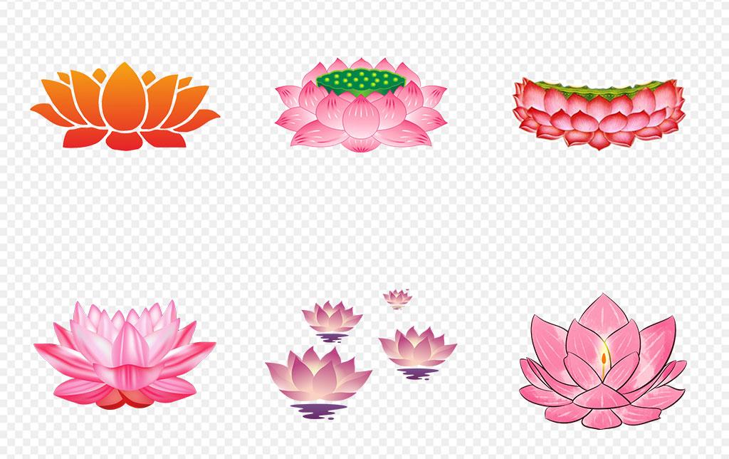 免抠元素 自然素材 花卉 > 国画墨荷花手绘水荷叶海报背景png素材