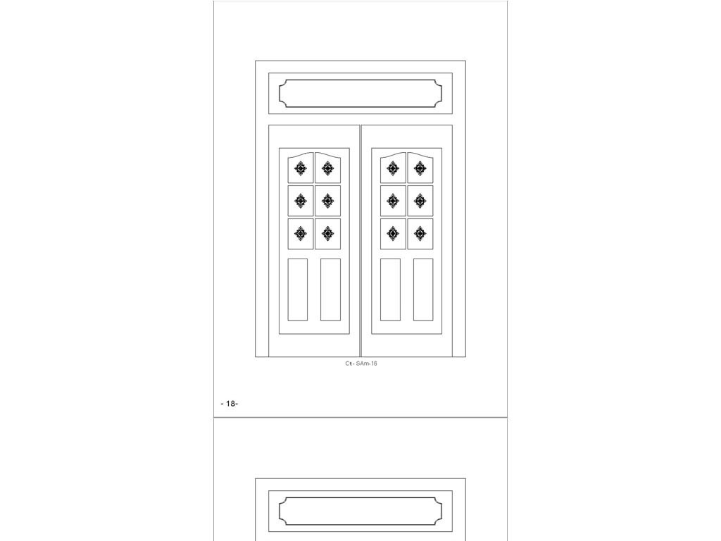 图像光栅背景套图CAD花草图dxf格式cad不打印出来柜门大门图片