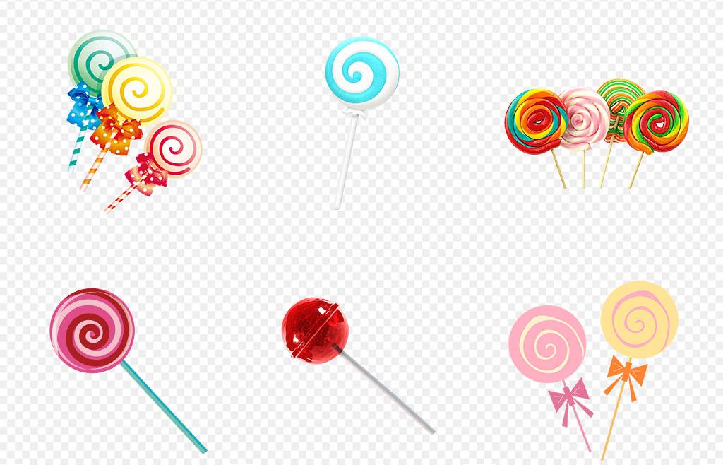 免抠元素 生活工作 食物饮品  > 彩虹棒棒糖糖果甜品海报素材背景图片