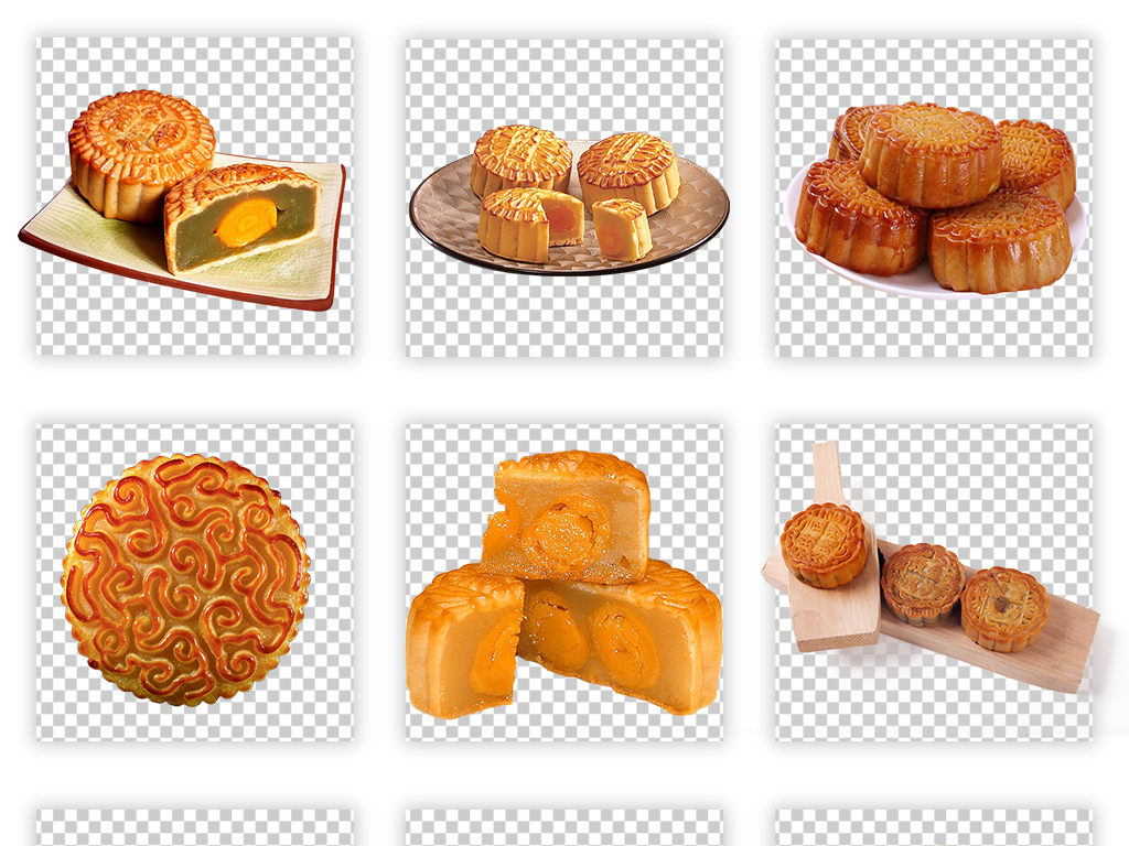 中秋节八月十五月饼素材元素png背景设计图片 模板下载 103.04MB 图片
