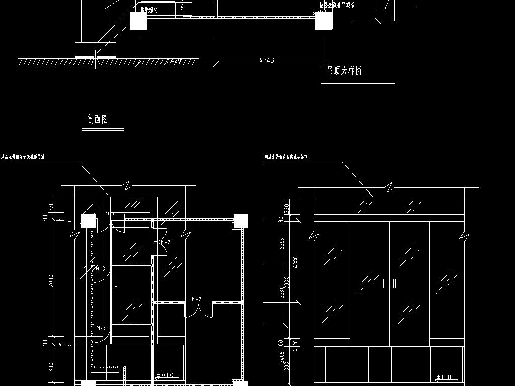 cad网络中心机房电气设计图