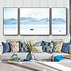 新中式水墨山水抽象意境客厅装饰画新古典画