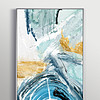 新中式现代艺术北欧手绘抽象客厅玄关装饰画