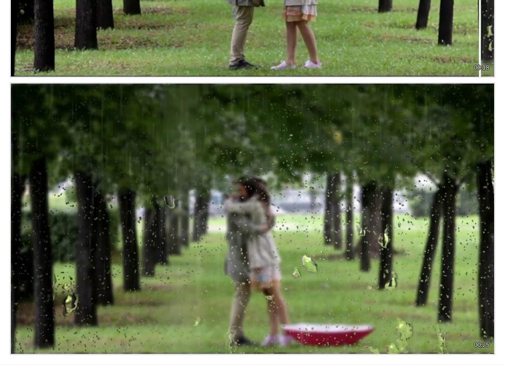 000下雨畫面效果幻燈片ae模板素材 高清mp4格式下載 視頻2.41mb 圖文視頻墻 ae大全