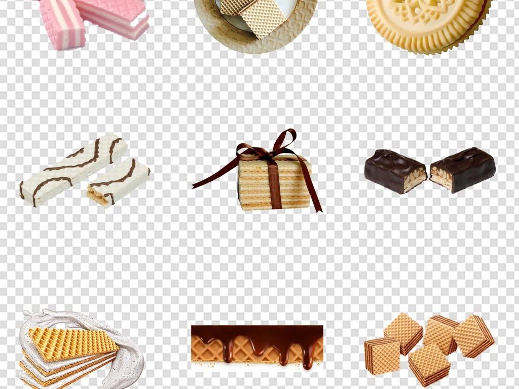芝麻饼干巧克力饼干柠檬夹心饼干威化饼干饼干背景零食素材休闲食品