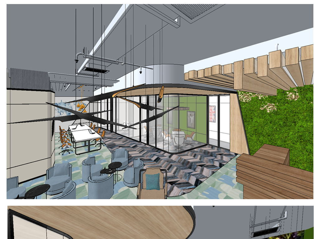 办公室设计模型