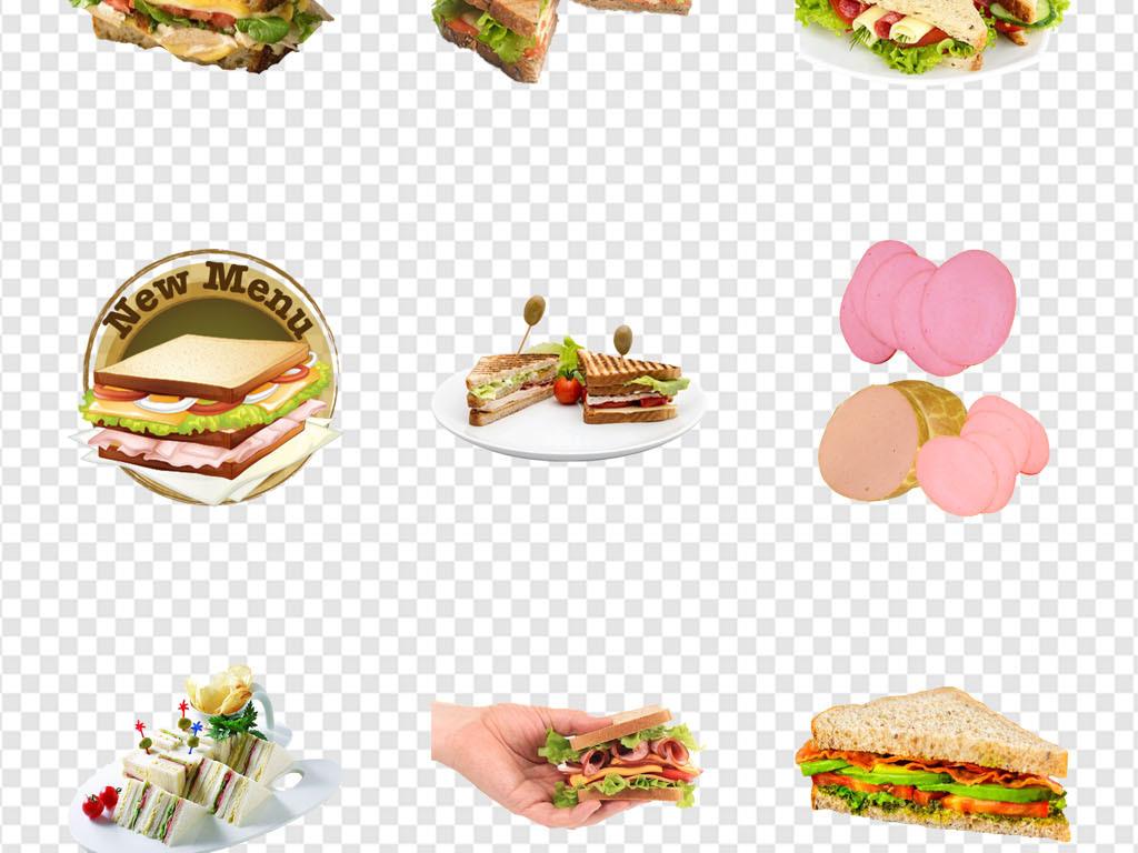 花餐饮背景麦当劳汉堡素材汉堡手
