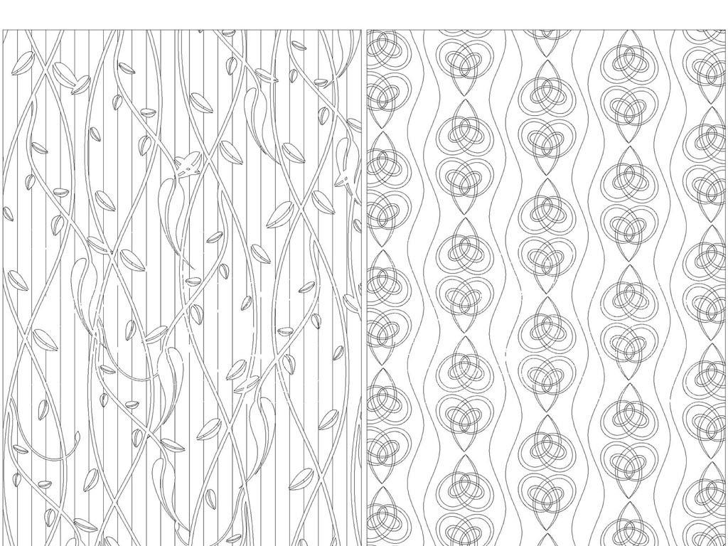 纹底纹路套图CAD背景图dxf电气线条矢量图中点cad怎样画格式划线图片