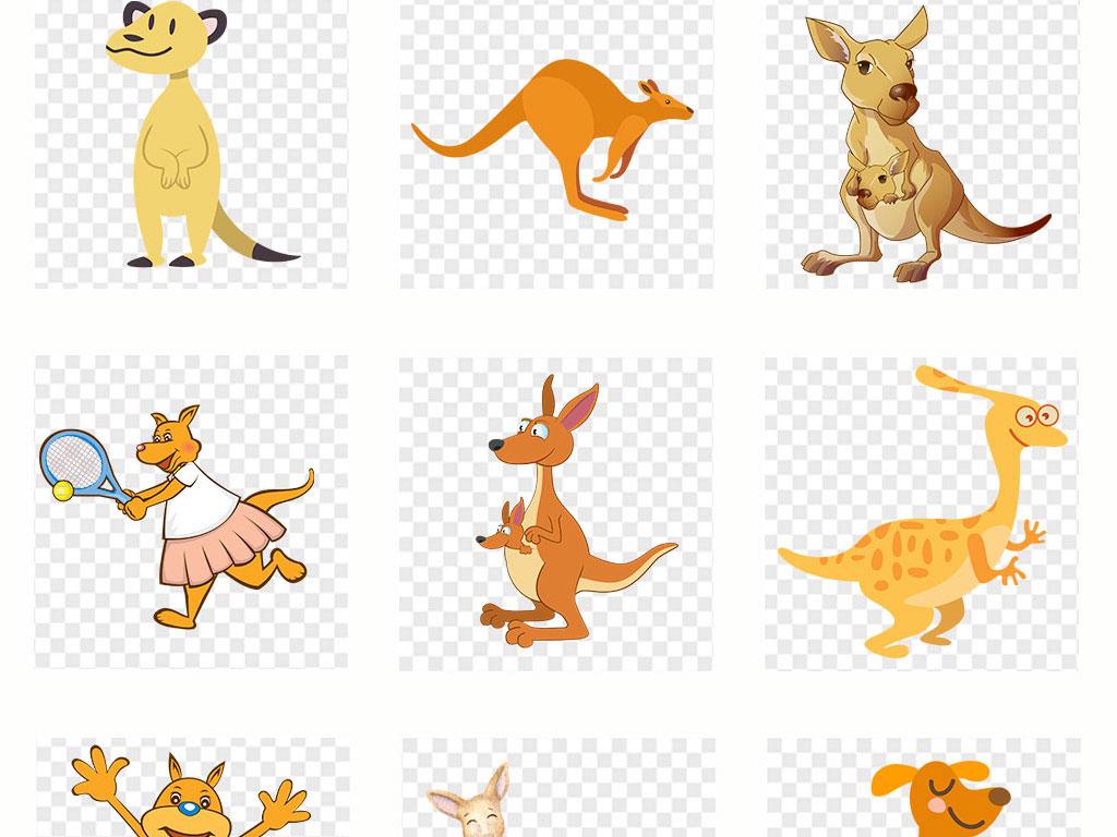 小动物手机壳图案设计儿童画手绘动物水墨黑白