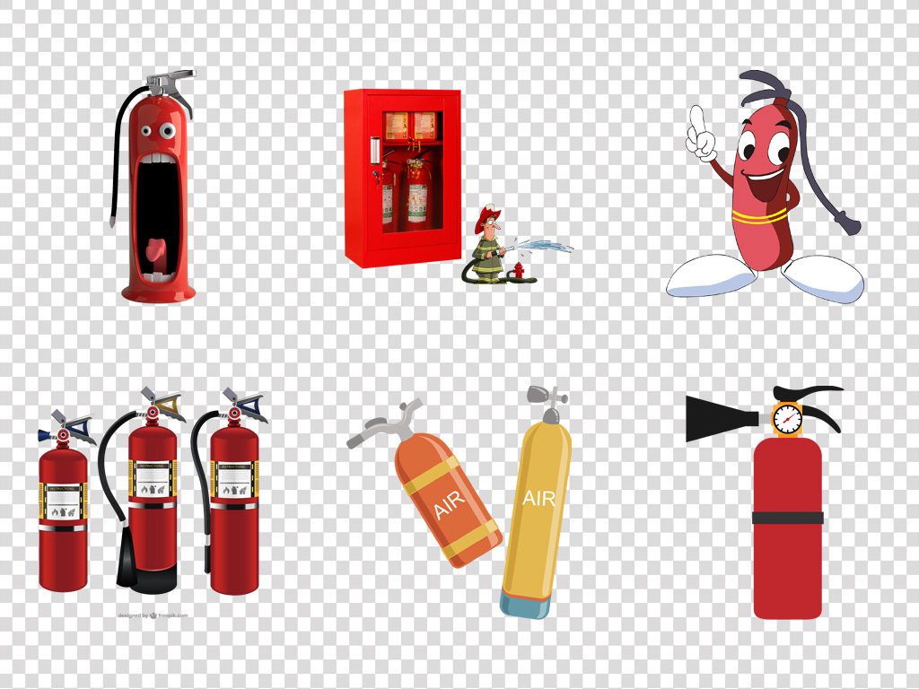 安全知识教育灭火器消防海报宣传栏PNG图片素材 模板下载 15.21MB 办公商务大全 生活工作