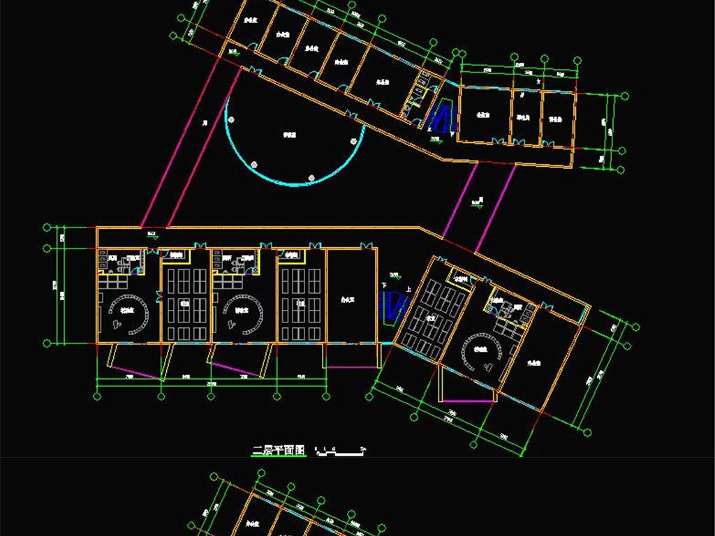 模型库 su模型 建筑模型 > 9班幼儿园su模型 cad平面图 效果图  版权