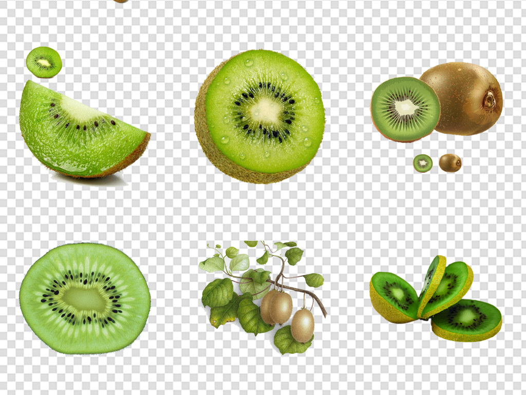 水果素材奇异果奇异果图片手绘