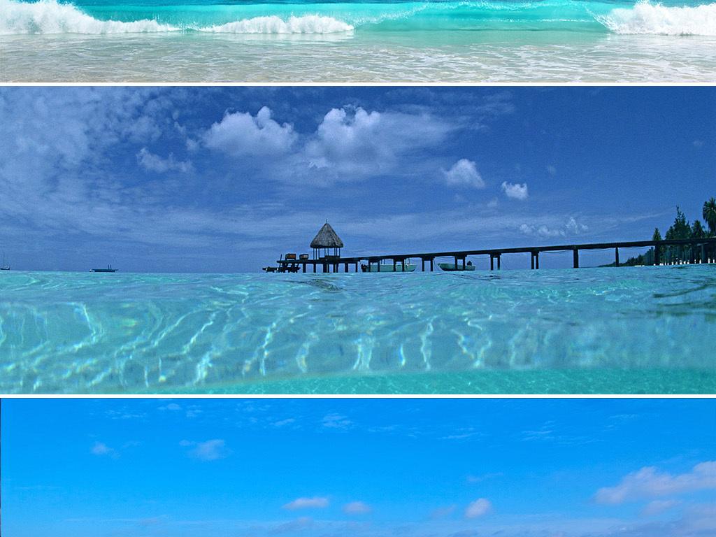 吉普岛马尔代夫海岛海边旅游海报banner