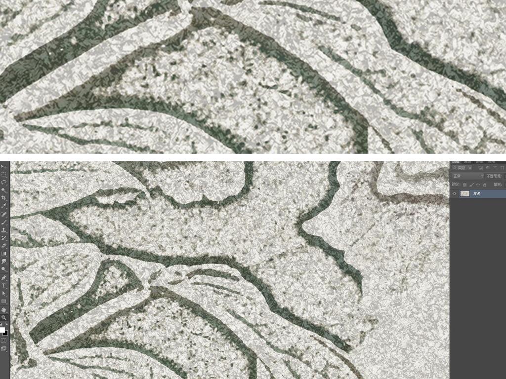 手绘素雅牡丹卧室客厅地毯新中式地毯