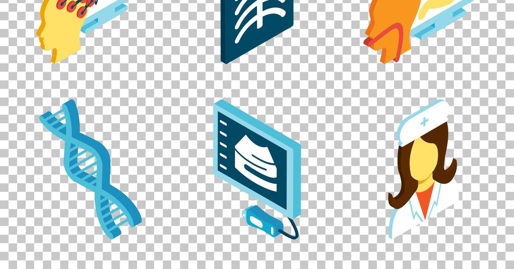 手绘卡通科技医疗医学健康免抠png素材图片_模板下载