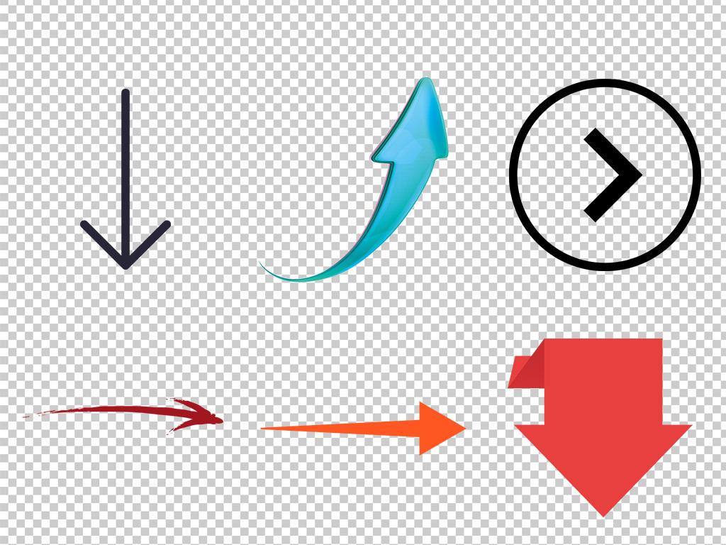 藍色商務立體箭頭科技上升海報素材背景圖片png
