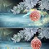 ae圣诞节新年节日祝福片头模板