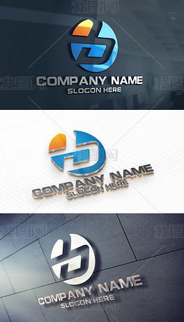 b字母logo设计一经典年级作业设计图图片