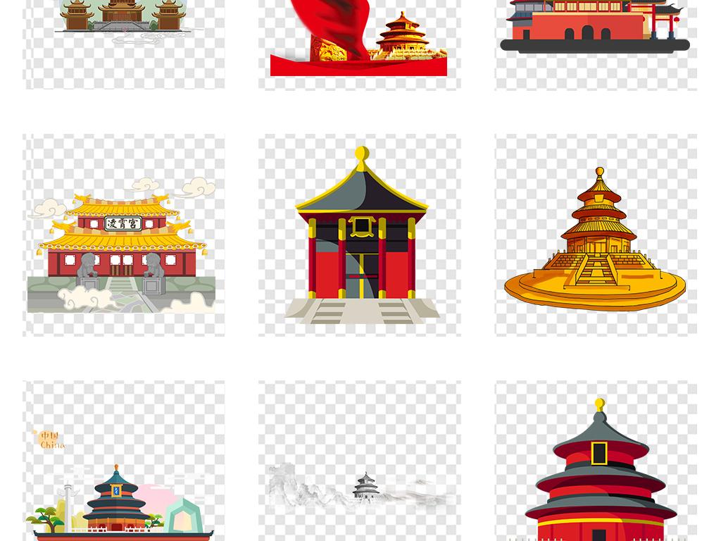 中国军人带国旗卡通