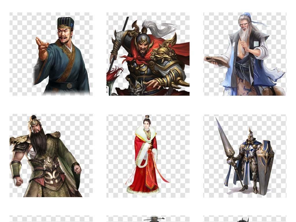 三国古装将军人物古代战争将军战士海报背景