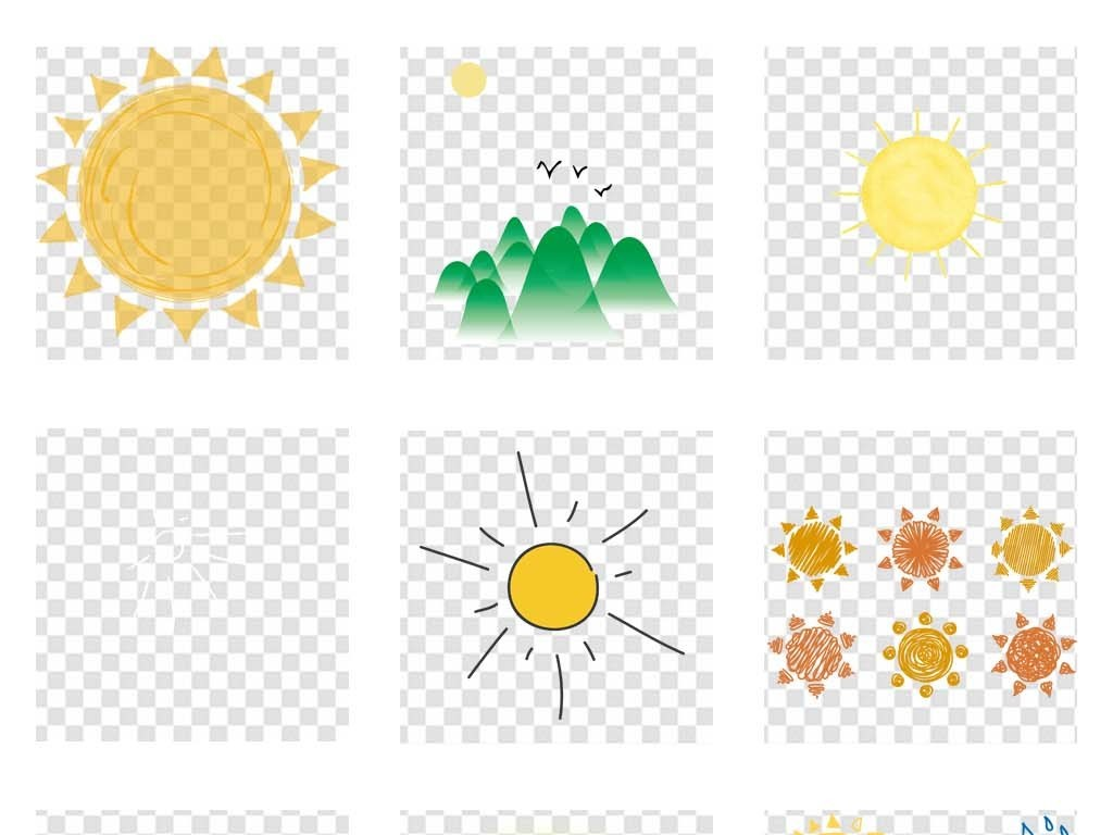 小太阳                                          太阳光线