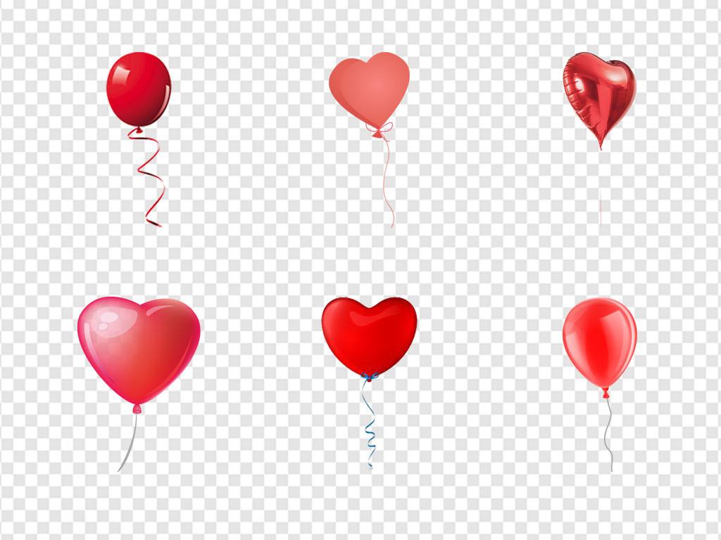 手绘气球图案简单漂亮
