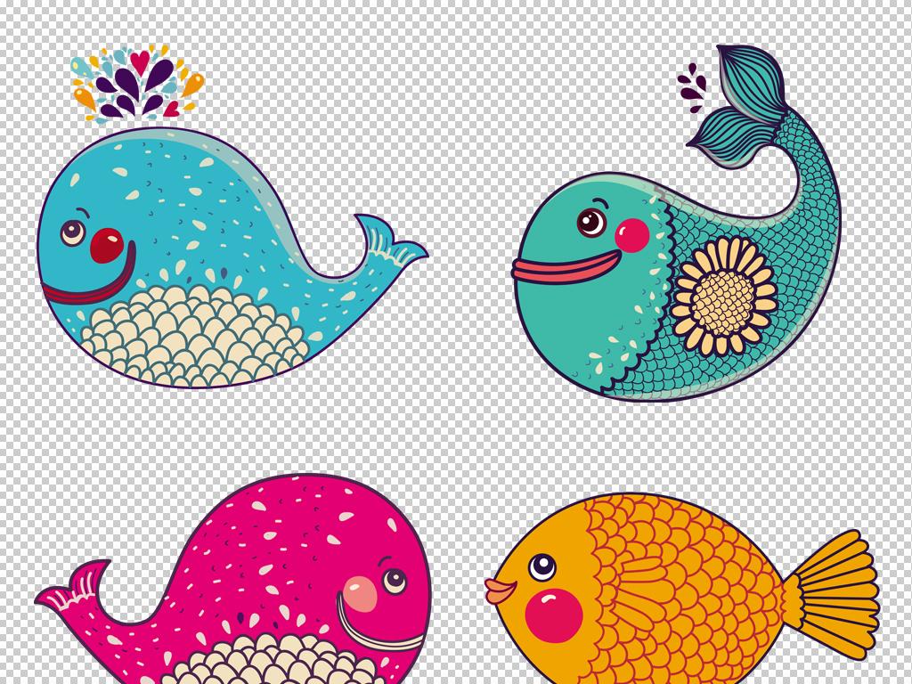 海洋ppt素材                                          卡通小鱼