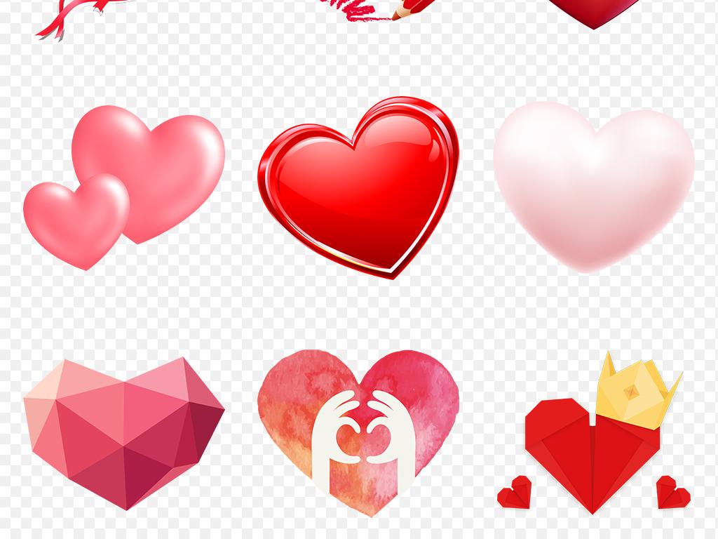 免抠元素 生活工作 其他 > 手绘水彩爱心心形心动海报素材背景图片png