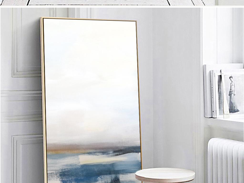 北欧ins抽象风景玄关装饰画图片设计素材_高清模板(25