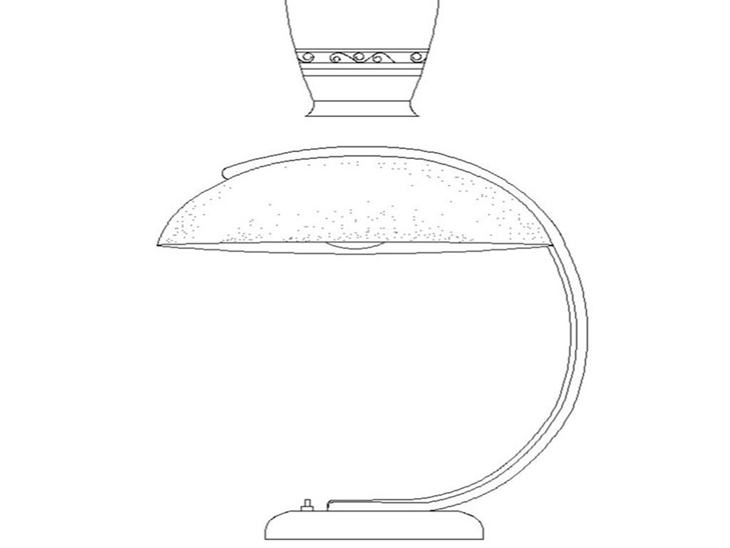cad室内设计常用灯具图库壁灯台灯吊灯筒灯射灯单个图图片