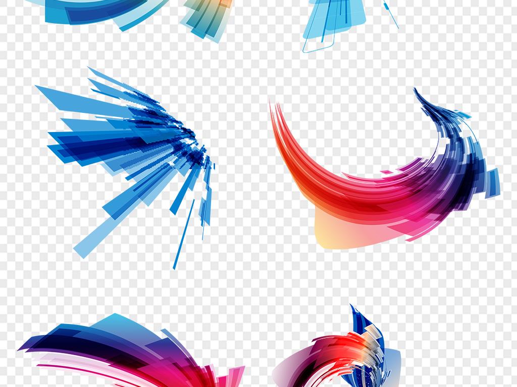 几何商务背景装饰海报科技小报科技框格子正方形电路板