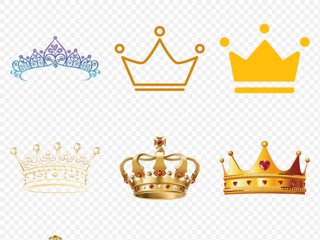 小皇冠淘宝皇冠金色皇冠皇冠图片手绘头盔精致王冠图案卡通