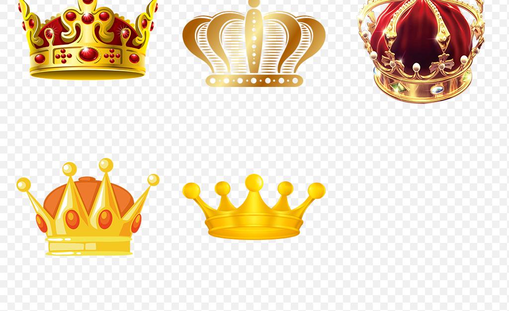小皇冠淘宝皇冠金色皇冠皇冠图片手绘