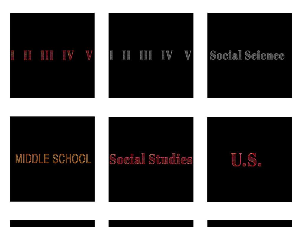 免抠元素 花纹边框 卡通手绘边框 > 开学季个性花纹边框黑板报免扣png