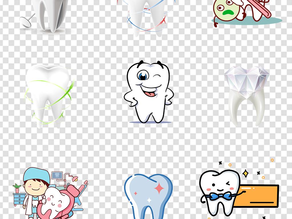 牙齿保护牙科医院诊所护理知识PNG素材图片 模板下载 20.91MB 其他