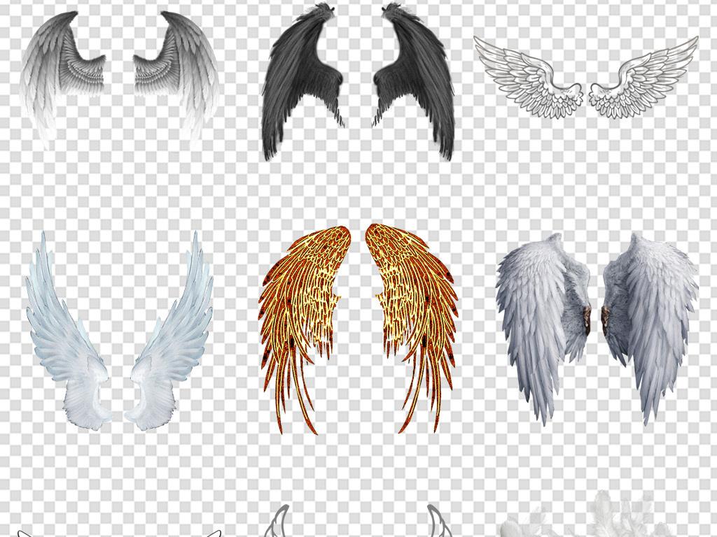 可爱卡通卡通背景图片翅膀素材天使翅膀天使卡通素材翅膀素材唯美卡通