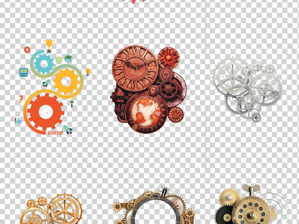 工业机械齿轮科技商务齿轮png免抠透明图片PS平面设计素材