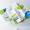 创意科技公司三折页宣传单企业画册