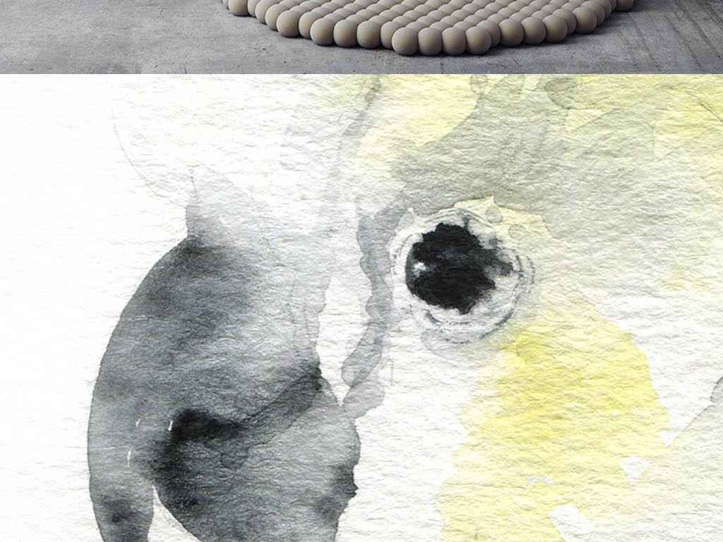 插画 动植物插画 动物插画 > 简约可爱小清新绘画鹦鹉装饰画ins北欧风