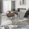 现代简?#25216;?#20309;图案北欧混搭风客厅地毯
