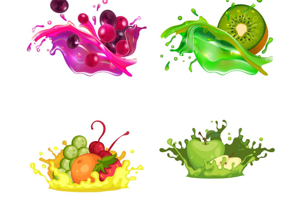 果蔬水果边框创意素材蔬菜水果图片