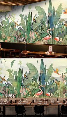 森林 墙绘图片素材 森林 墙绘图片素材下载 森林 墙绘背景素材 森林 墙