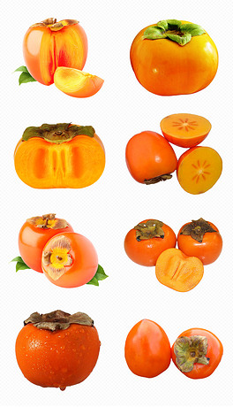 精品柿子红柿子火柿子天猫?#21592;?#24180;货节PNG免抠素材