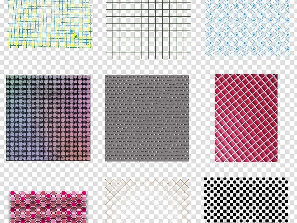 手绘线条网格纹理背景底纹素材png