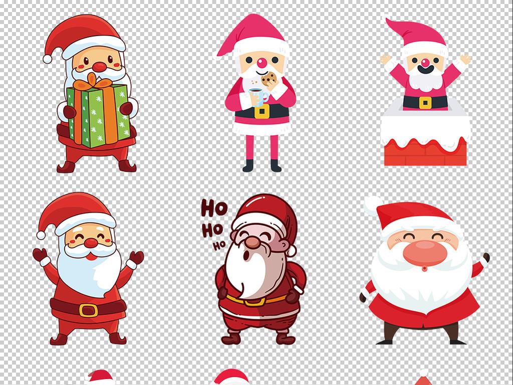 账手绘圣诞老人可爱可爱卡通免抠圣诞老人元素卡通手绘手绘卡通手绘