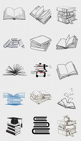 PNG封面简笔画 PNG格式封面简笔画素材图片 PNG封面简笔画设计模板 我图网