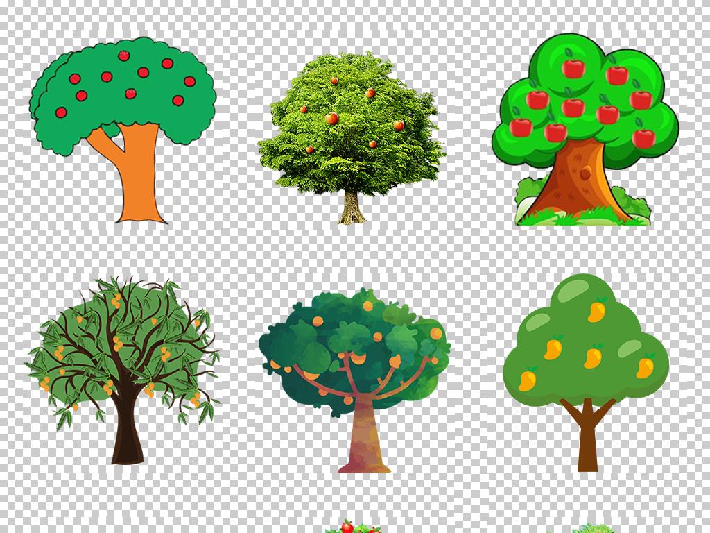 卡通树图片卡通树背景卡通树素材手绘树简约创意树儿童创意树知识