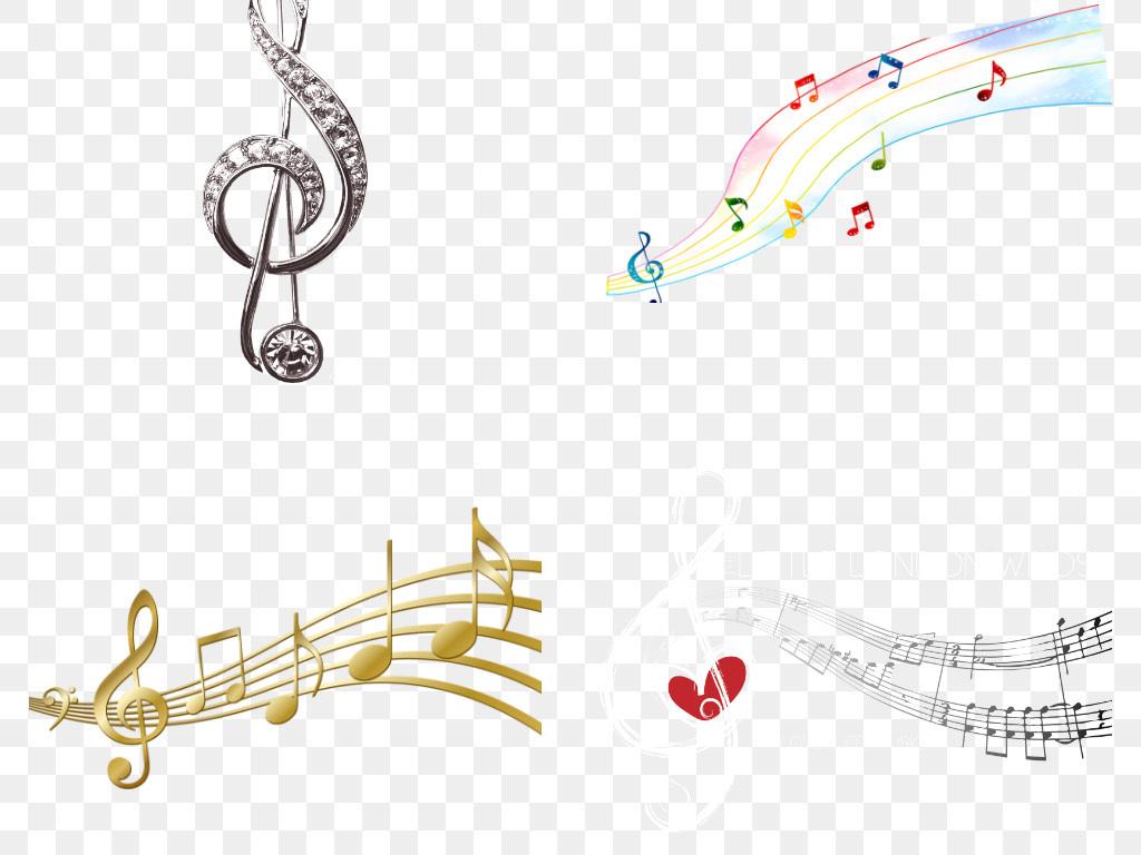 教室麦克风琴键动感乐符舞蹈乐谱旋律话筒唱歌k歌吉它儿童耳麦黑白免图片